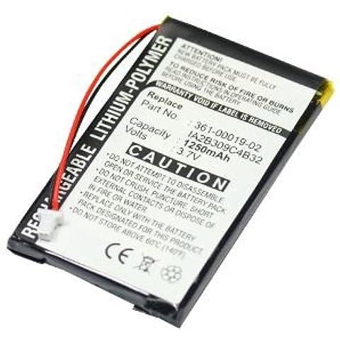 Batería para Garmin nüvi 300 nüvi 360 nüvi 310 nüvi 350 nüvi 370 nüvi 300 Deluxe (1250mAh)