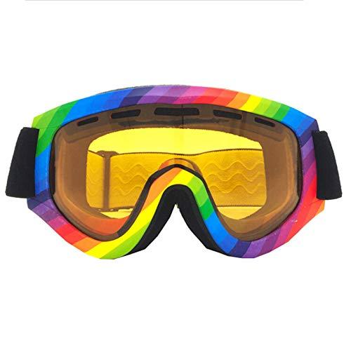 KnBoB Snowboardbrille Herren Skibrille Langlauf Sport Brille Klar Tarnen