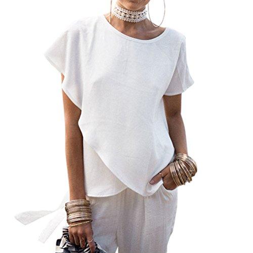 Nlife - Camicia -  donna White