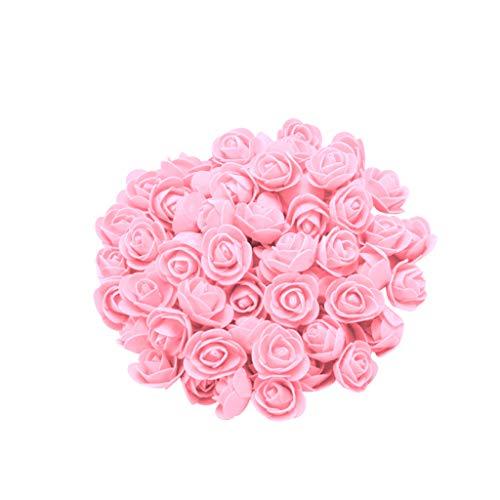 Y56 100 x 200 pezzi in schiuma con rose rosse e rose, regali per matrimonio, compleanno, san valentino