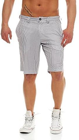 Hochwertige TOMMY HILFIGER Herren Golf Shorts Gr. 52 CLOUDBURST regular fit mit Logo sportlicher Look vordere und hintere Taschen