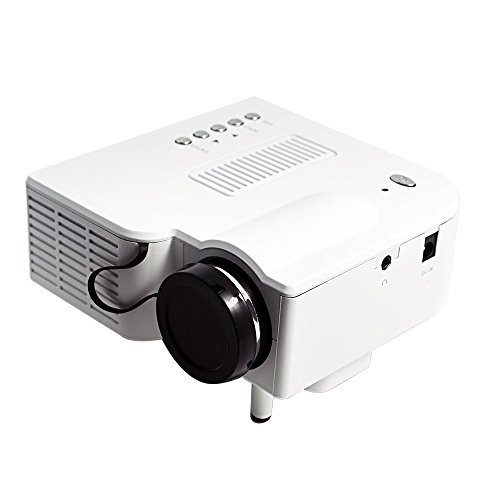 """Ozoy Projector Led For Home And Office Flying 10-100"""" Led For Tv,Dvd,Pc With Sd,Usb,Av In Vga,Hdmi,Coaxial Tv Nw Portable Home Cinema Theater"""