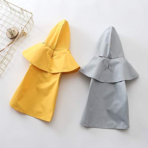 PZSSXDZW Wasserdichte Kleidung im Freien muss Haustier Regenmantel Hund Regenmantel Teddy Bear Schnauzer