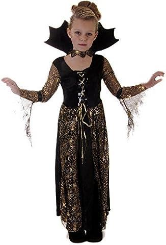 Araignée Sorcière Vampire Halloween Costume Ou VEX des filles