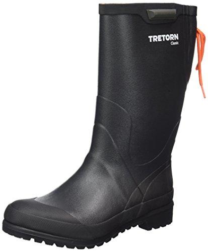 Tretorn Unisex-Erwachsene Classic Gummistiefel, Schwarz (Black), 40 EU - Schuhe Tretorn