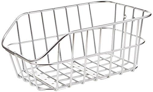 Basil Fahrradkorb Cento Alu aluminium, 45 cm x 33 cm x 21 cm