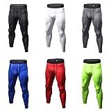 Herren Kompressionshose, einfarbig, Leggings für Bodybuilding, Skinny