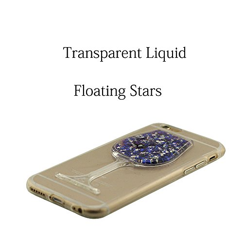 Mini-Goblet Original Conception - iPhone 6S étui de Protection Liquide Eau Style Clair Transparent Souple Silicone Gel Mince Case Coque pour Apple iPhone 6 4.7