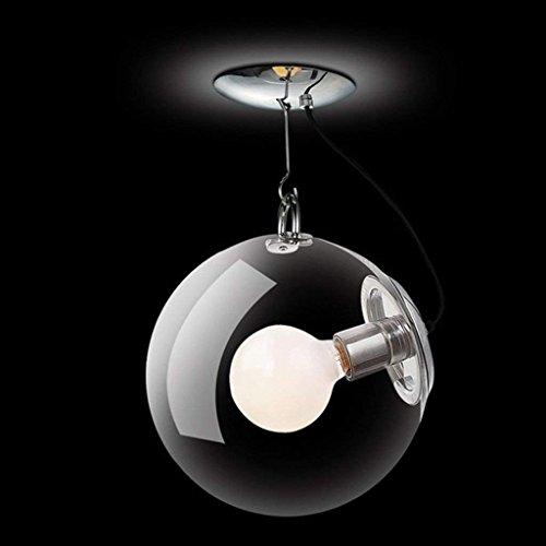 CCYYJJ Creative Glass Seifenblase Runde Deckenleuchten Einfache Moderne Kunst Persönlichkeit Schlafzimmer Eingang Wohnzimmer Licht Einem Kopf E27 Mode (Farbe: #1, Größe: 30 Cm). (Eingang 1-bahnhof)