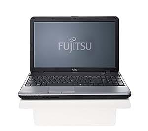 """Fujitsu A531 Ordinateur Portable 15.6 """" Intel 500 Go Windows 7 Professionnel Noir, Argent"""