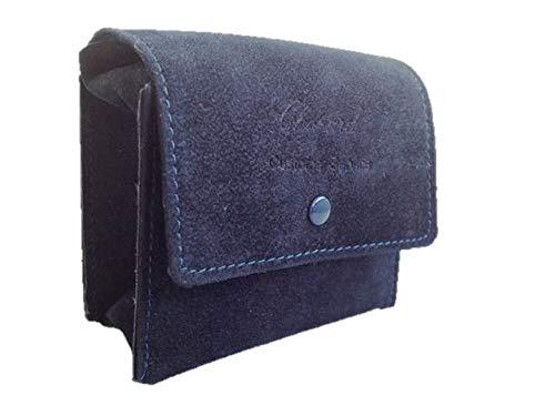 Chopard Luxus Etui Uhren Schmuck Samthülle Samt Tasche Blau NEU!