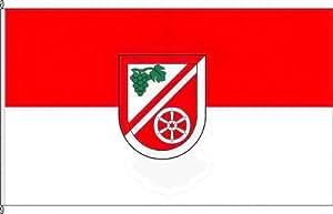 Kleinflagge VG Bodenheim - 40 x 60cm - Flagge und Fahne
