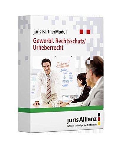 juris PartnerModul Gewerblicher Rechtsschutz / Urheberrecht: partnered by Bundesanzeiger Verlag | C.F.Müller | De Gruyter | Deutscher Anwaltverlag | ... Verlag Dr. Otto Schmidt (juris PartnerModule)