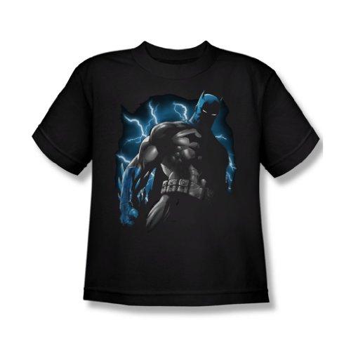 Batman - Gotham Lightning Jugend T-Shirt in schwarz Black
