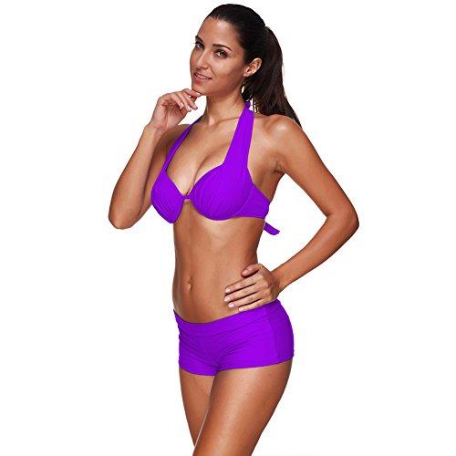 feelingirl-damen-push-up-bikini-sets-swimwear-swimsuit-schwarz-weiss-blau-bademode-neckholder-bathin