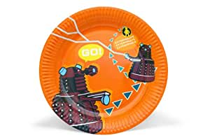 Doctor Who Partyware Paper Plates (Pack of 6)