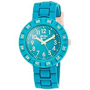 Flik Flak Mädchen Analog Quarz Uhr mit Kautschuk Armband FCSP088