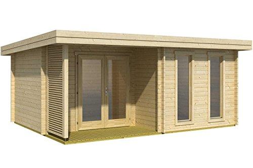 Holz-Gartenhäuser Gewicht