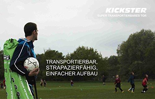 QUICKPLAY Kickster Academy Tragbares 2,4 x 1,5m Fußballtor - 6