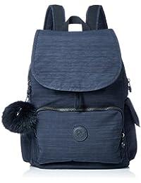 Kipling City Pack, Mochila para Mujer, Azul (True Dazz Navy), 32x37x18