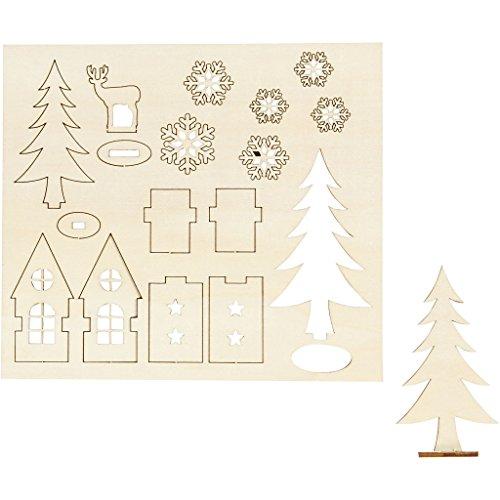 Creativ Ideal für Ihre Winterdeko und vielseitig verwendbar