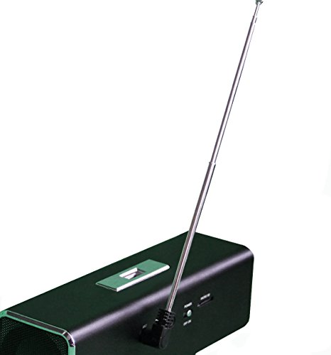 MusicMan Radio Antenne Big Size Power Receiver 30cm Original MusicMan Zubehör Radio Antenne 3 Poliger Klinken Stecker 3,5 mm Stabantenne