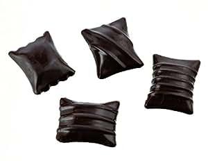 Moule raviolis chocolat professionnel. 12 empreintes. 6 g.