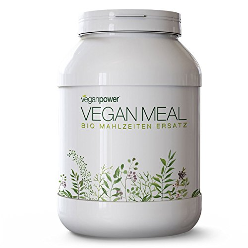 Preisvergleich Produktbild veganpower® Vegan Meal - Diät-Shake Pflanzlicher Mahlzeitenersatz - Natur 1kg MADE IN AUSTRIA