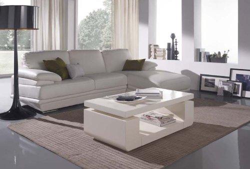 DECORACIÓN BELTRÁN Tables basses en bois: modèle CASUAL (276 blanc)