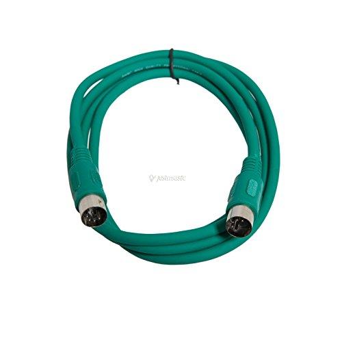 MIDI-Kabel STD 3 m grün