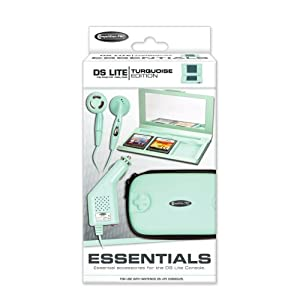 Nintendo DS Lite – Essentials Pack, türkis [UK Import]