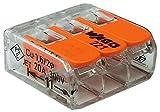 Wago 221 Klemmen 10x 221-413 | Kabel Verbinder in der wiederverschließbaren Box - Original WAGO