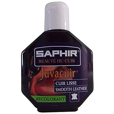 Recolorant Eraflures cuir Noir Juvacuir Saphir 75ML