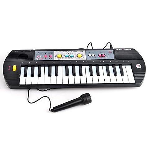 LoKauf 32 Key Kinder Keyboard mit Mikrofon-40cm