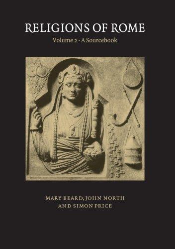 Religions of Rome: Volume 2, A Sourcebook Paperback por Beard