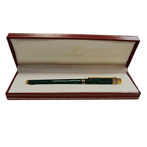 penna-stilografica-cartier-collezione-must-con-scatola-originale-laccata-verde