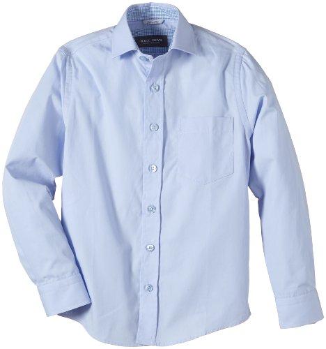 G.O.L. Jungen Hemd mit Haifischkragen, Slimfit, Einfarbig, Gr. 170, Blau (skyblue)