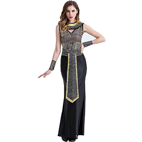 jysport Halloween Frauen Cosplay Outfits Griechisch Fancy Kleid Ägypten Karneval Anime Outfit, (Griechische Dress Fancy)