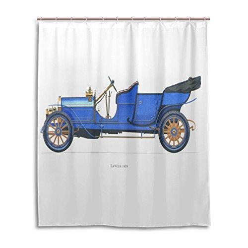cortina-de-ducha-de-bano-60-x-72-inch-vintage-azul-hispano-suiza-coche-tela-de-poliester-a-prueba-de