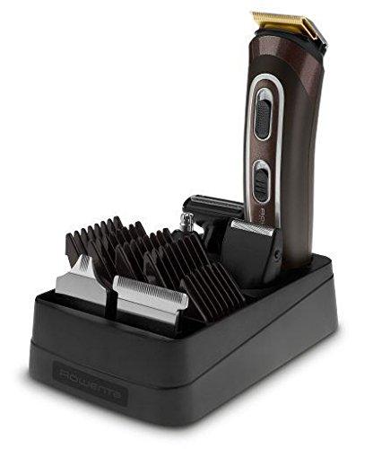 Rowenta TN9160 Trim&Style Grooming Kit 12 in 1 Multigrooming, Rasoio & Rifinitore Multifunzione per Viso, Barba, Corpo e Capelli, Tecnologia Wet&Dry