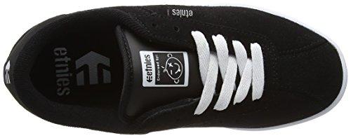 Etnies Scam W's, Scarpe da Skateboard Donna Black (Black/White)
