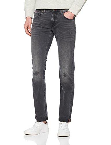 Tommy Hilfiger Herren Straight Jeans Denton-Str Homestead Black Schwarz (Homestead Black 420)