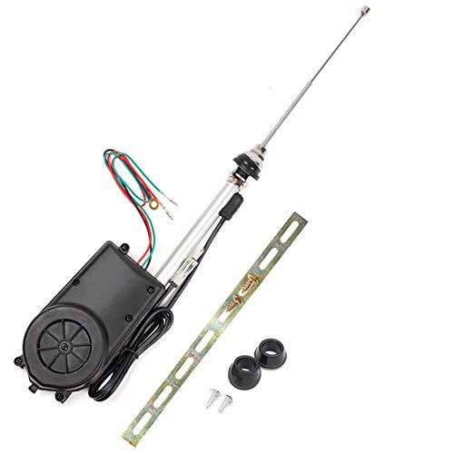 FOCCTS Autoantenne Kit Auto Elektrische Antenne Radio Automatische Booster Power Antenne Kit für Auto