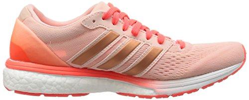 adidas Damen Adizero Boston 6 W Laufschuhe Pink (vapour Pink /vapour Pink /solar Red)