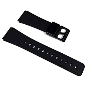 Casio Ersatzband Uhrenarmband Resin schwarz 22mm DBC-62-*