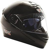LS2 Rookie Integralhelm Schwarz, Gloss - Sonderedition Speed Racewear - Kart & Motorradhelm (S (55-56cm))