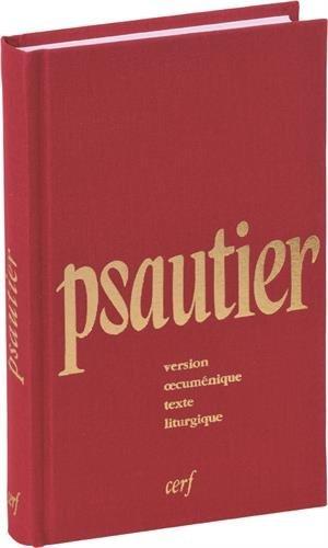 Psautier liturgique par René Boudon