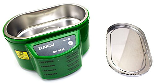 Limpia Metales Ultrasonido 30W BAKU-9030 Verde
