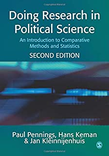 Doing Research in Political Science: An Introduction to Comparative Methods and Statistics (1412903777) | Amazon Products