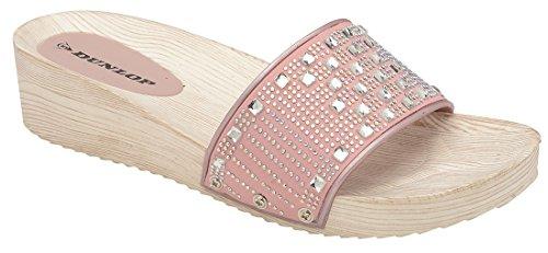 Dunlop Aperte sulla Caviglia Donna Pink